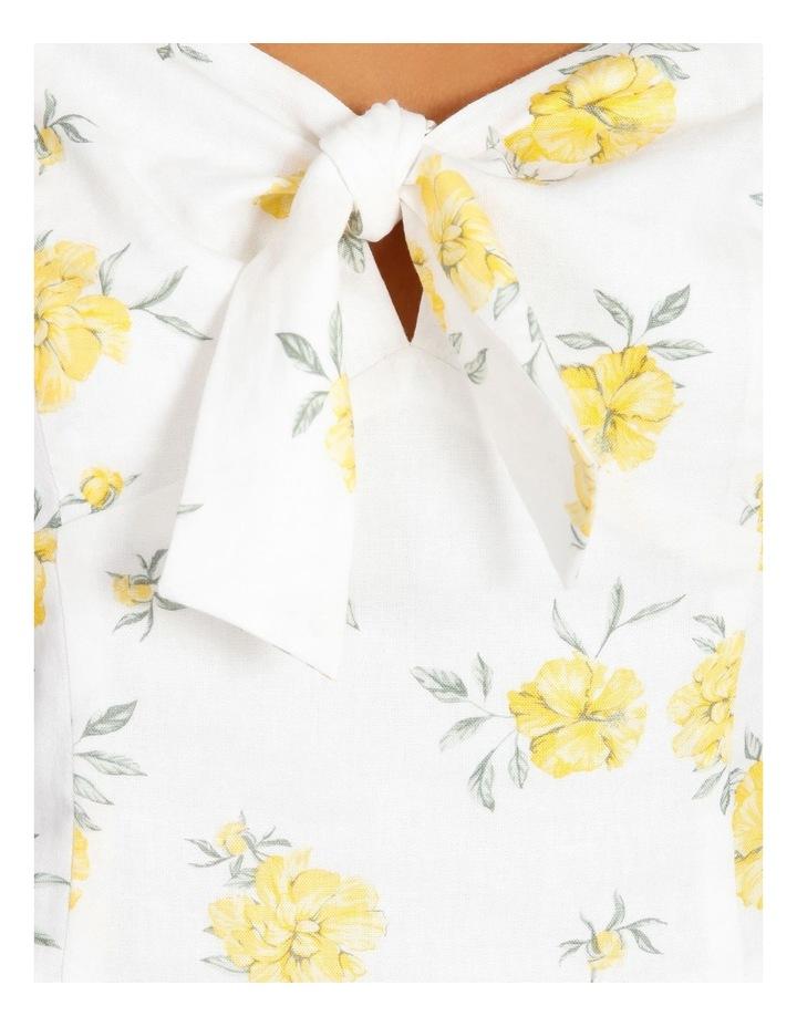 Tie Front Linen Blend Co Ord Top image 6