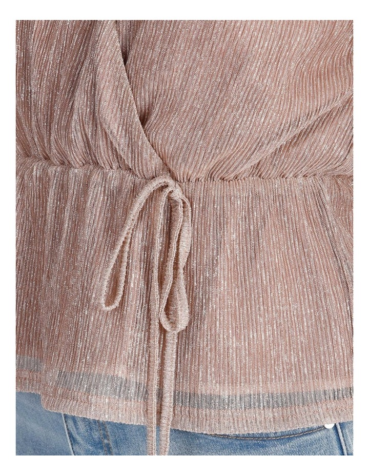 Ruched Plisse Top image 5