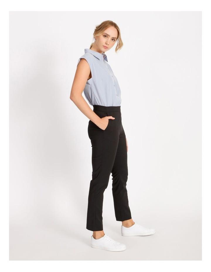 Power Shoulder Modal Blend Shirt image 2