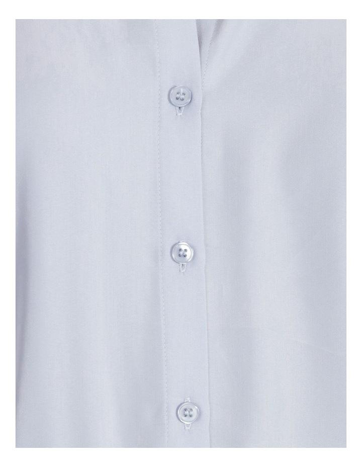 Power Shoulder Modal Blend Shirt image 5