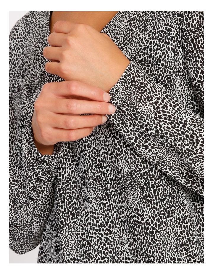 V-Neck Shoulder Detail Blouse image 4