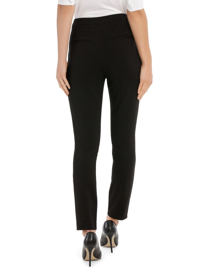 New York Skinny Pant With Zips image 3