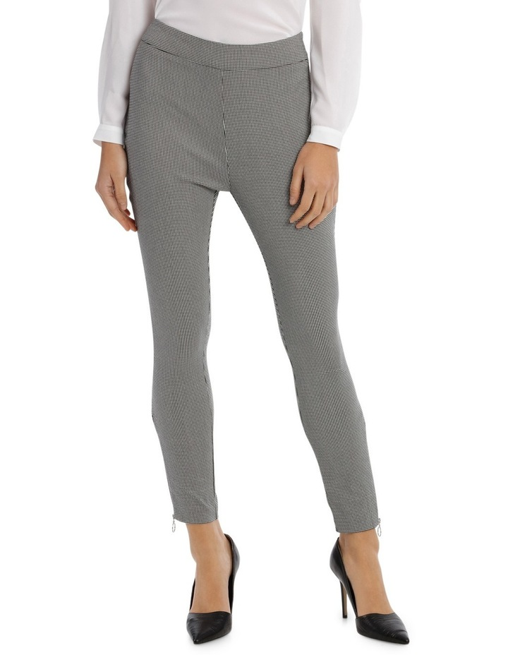 Hounds Tooth Zip Pant image 1