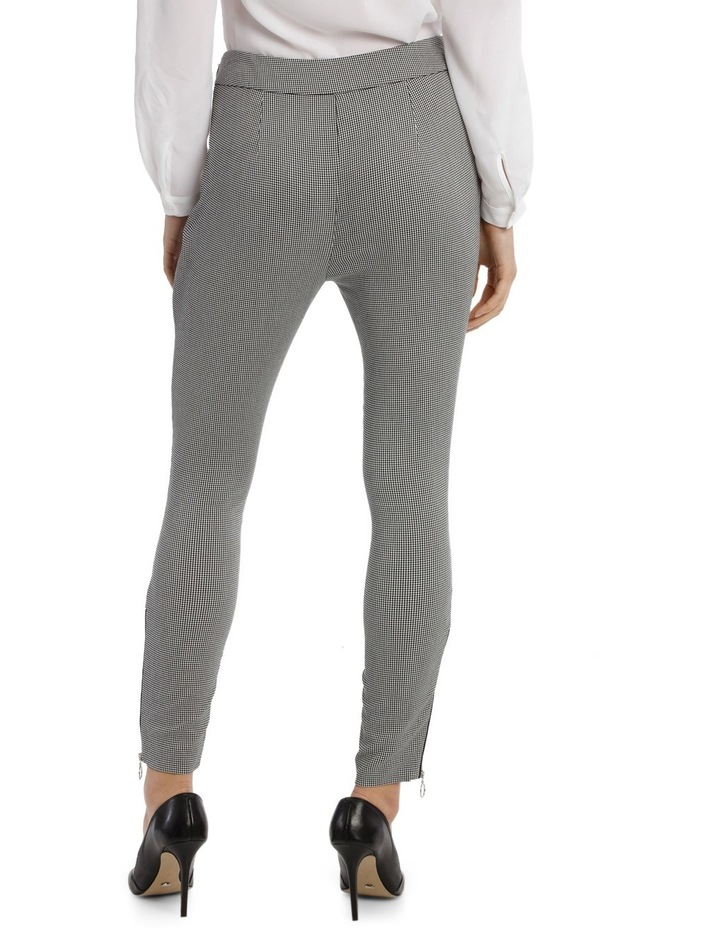 Hounds Tooth Zip Pant image 3