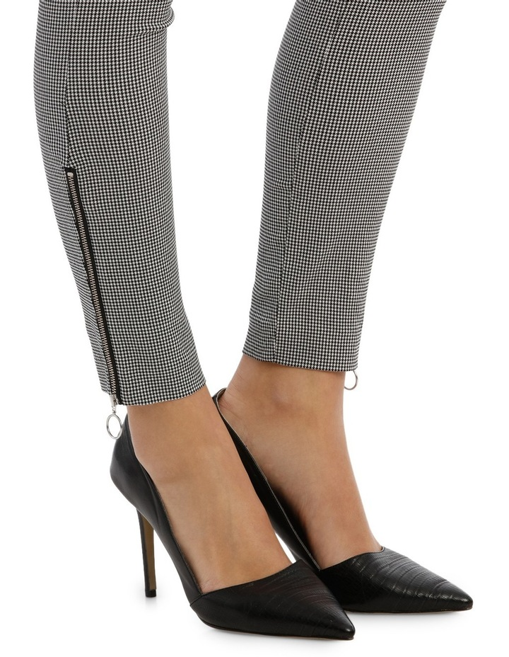 Hounds Tooth Zip Pant image 4