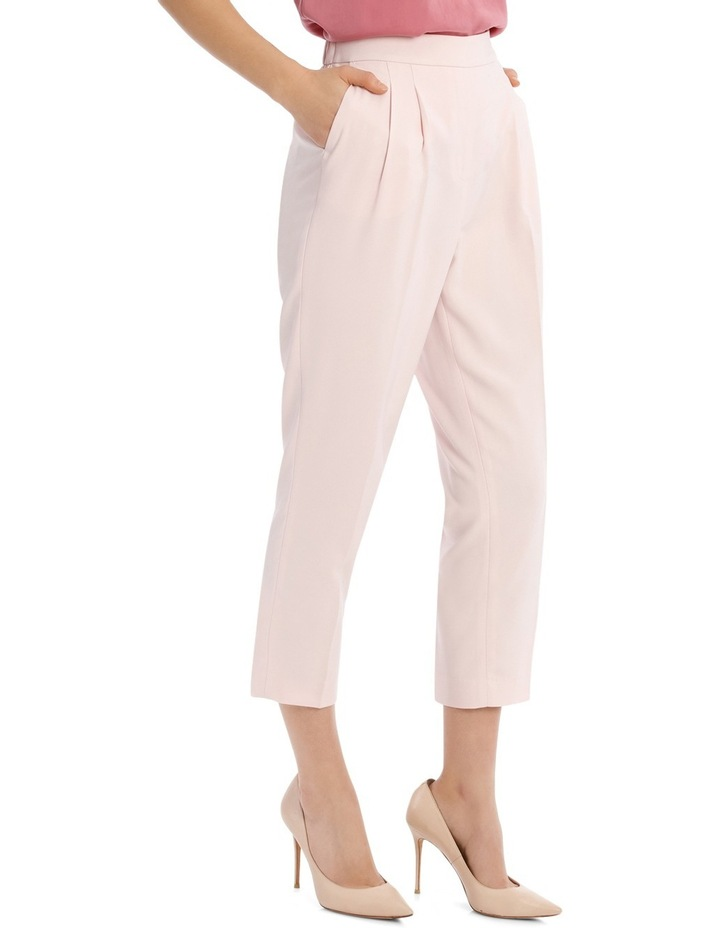 Tapered Cropped Pant - Powder Pink image 2