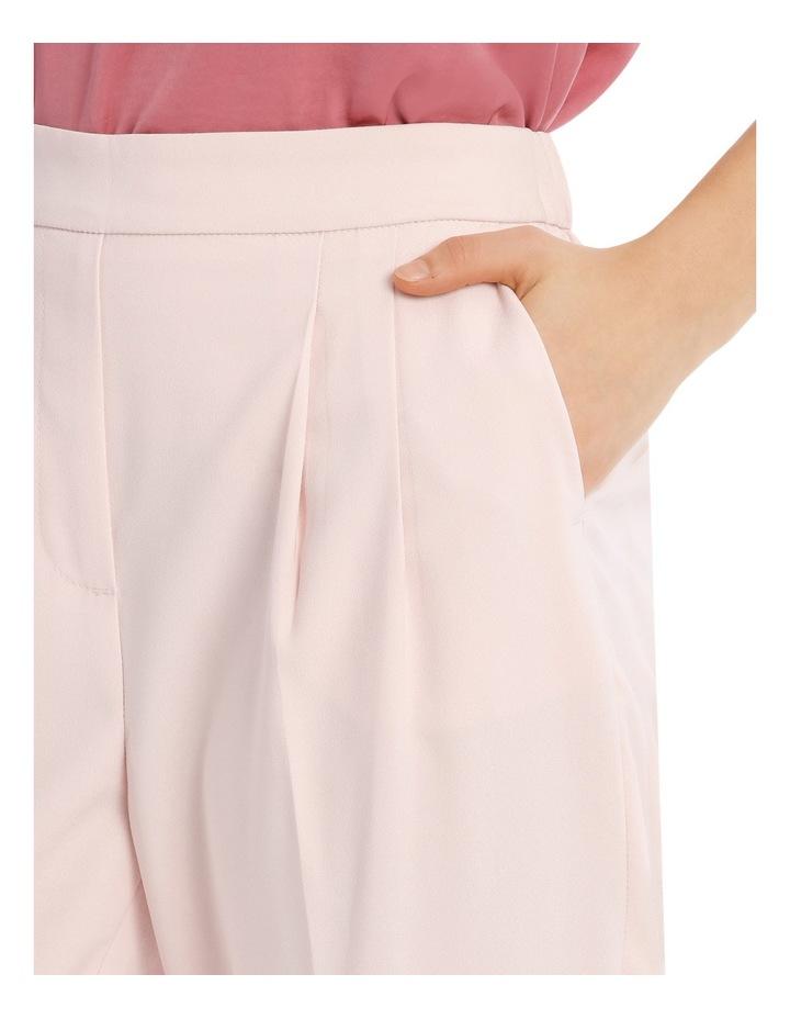 Tapered Cropped Pant - Powder Pink image 4