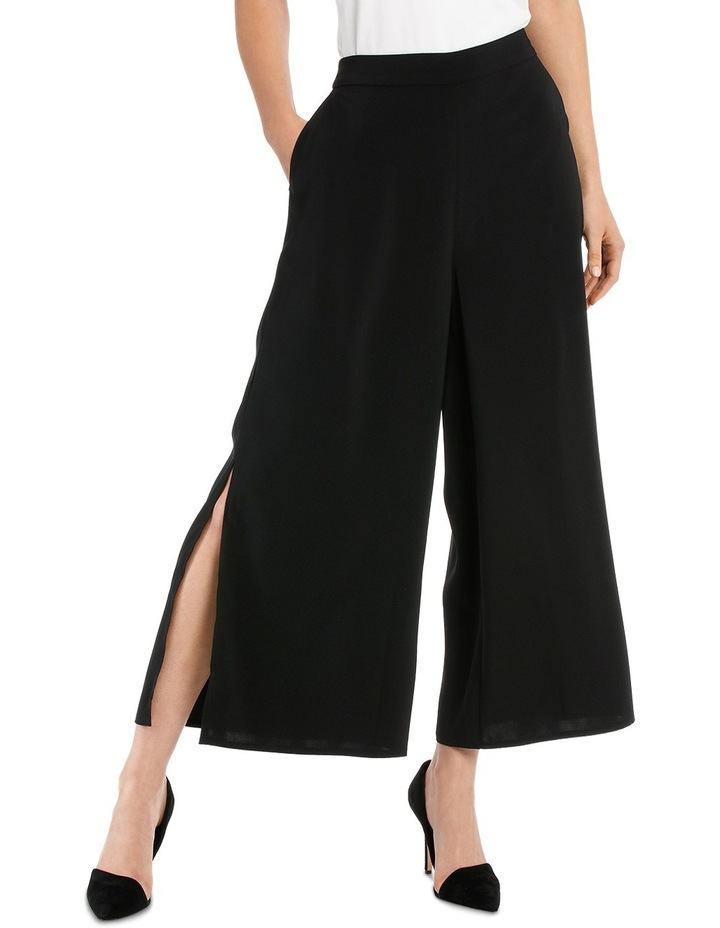 Wide Leg Culotte With Side Splits image 1