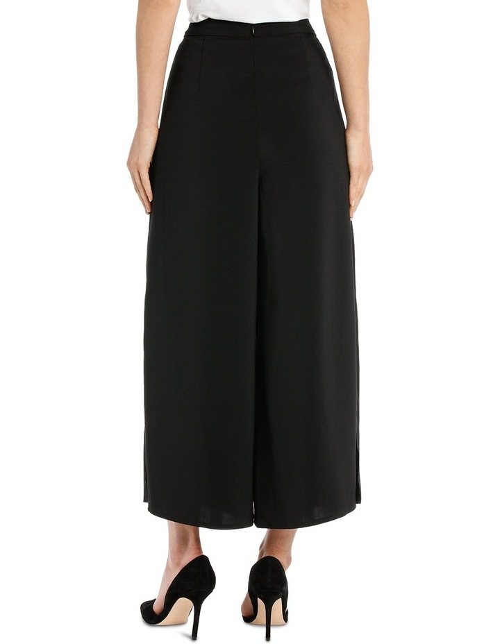 Wide Leg Culotte With Side Splits image 3