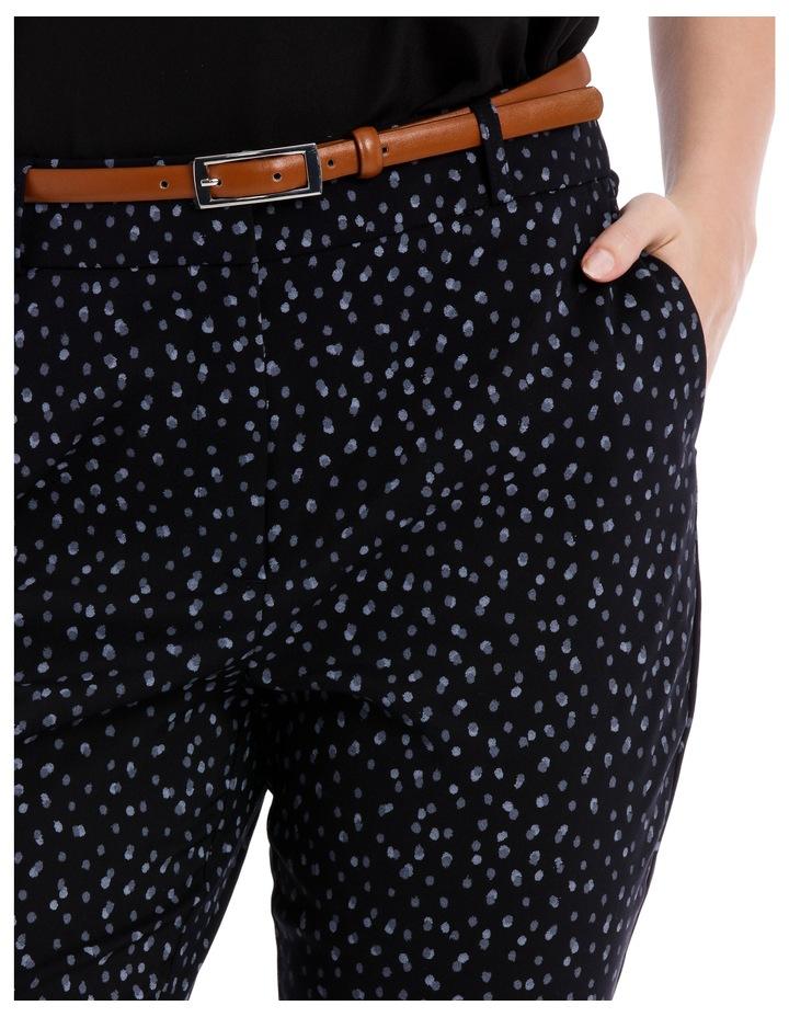 Chloe Belted Smart Pant - Smudge Spot image 3