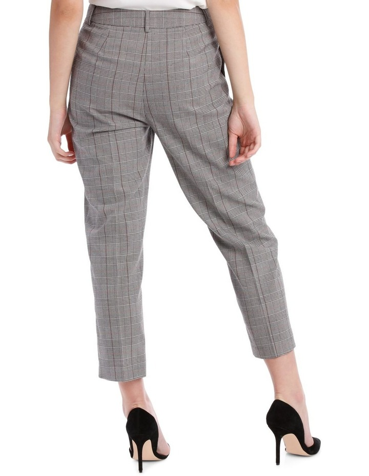 cropped suit pants -check image 2