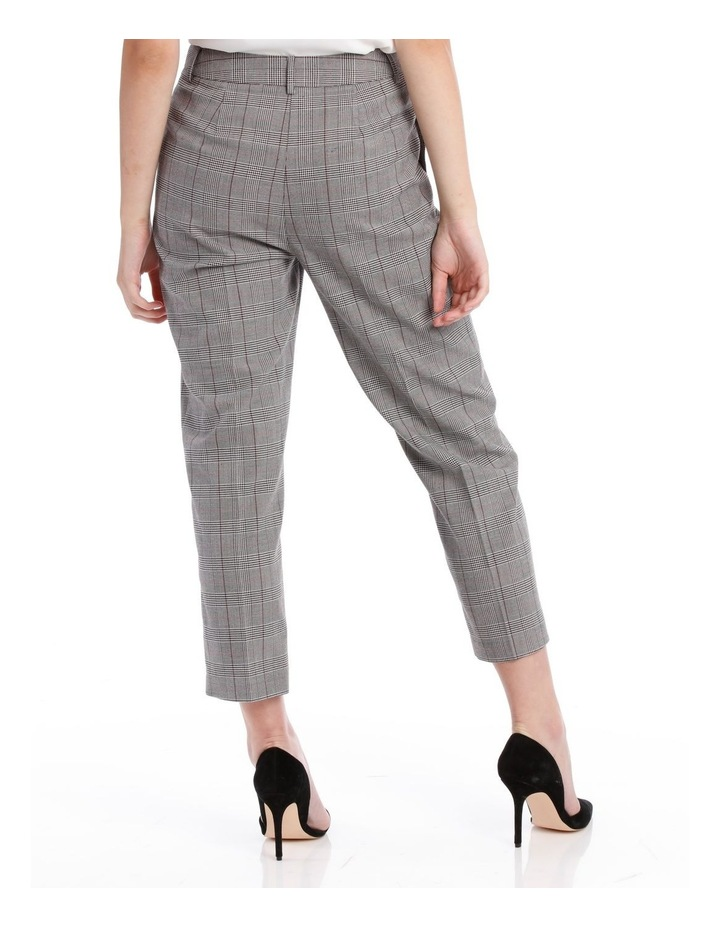 cropped suit pants -check image 3
