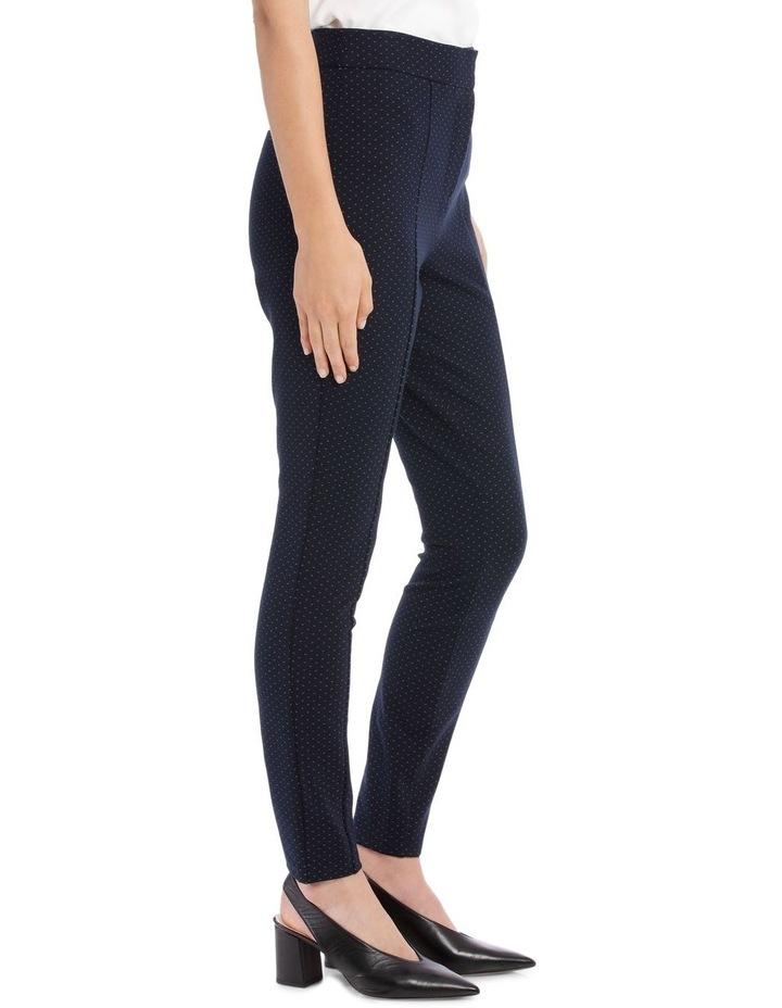 Bonnie Skinny Pants - Navy/White image 2