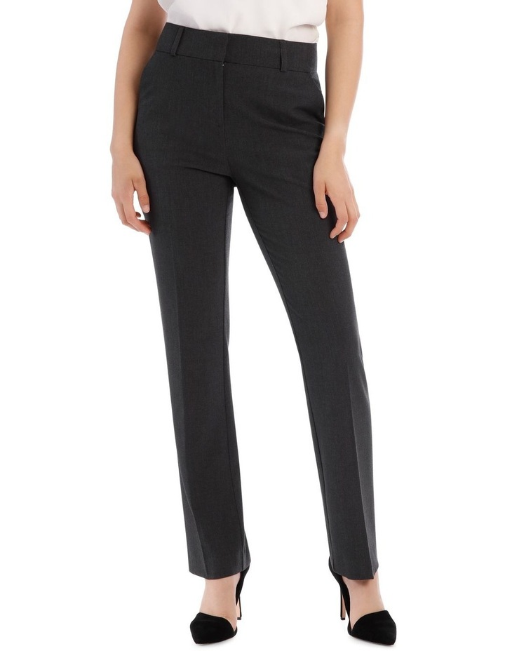 Abi Charcoal Straight Leg Pant image 1