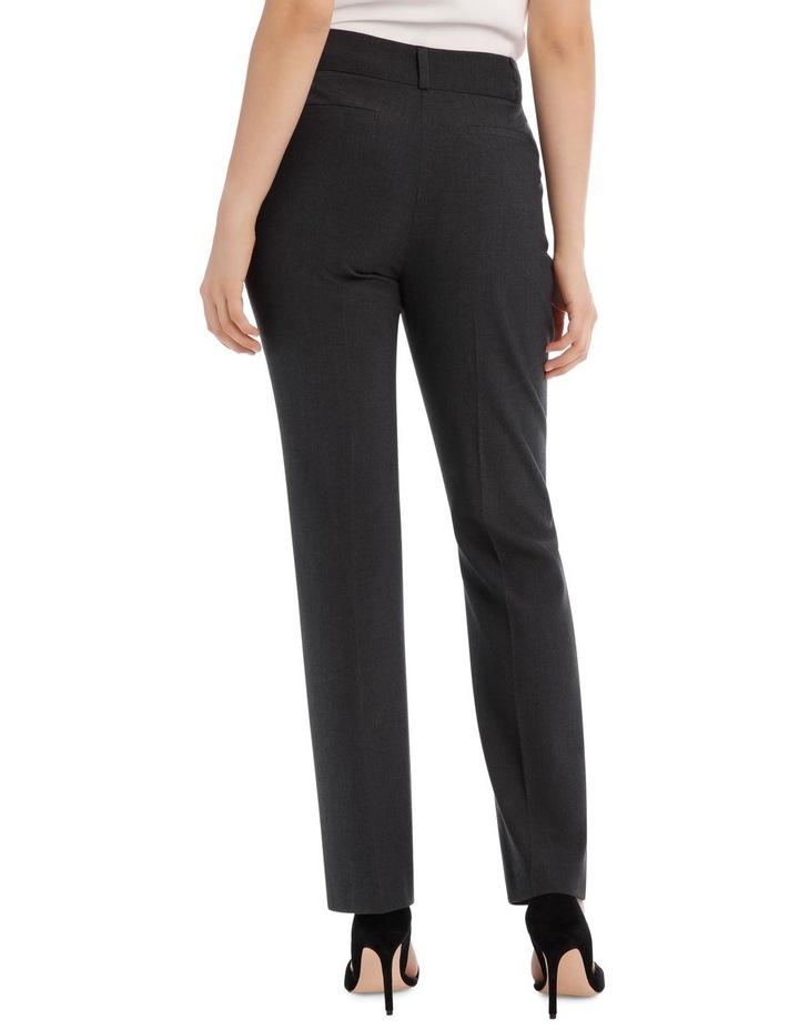 Abi Charcoal Straight Leg Pant image 5