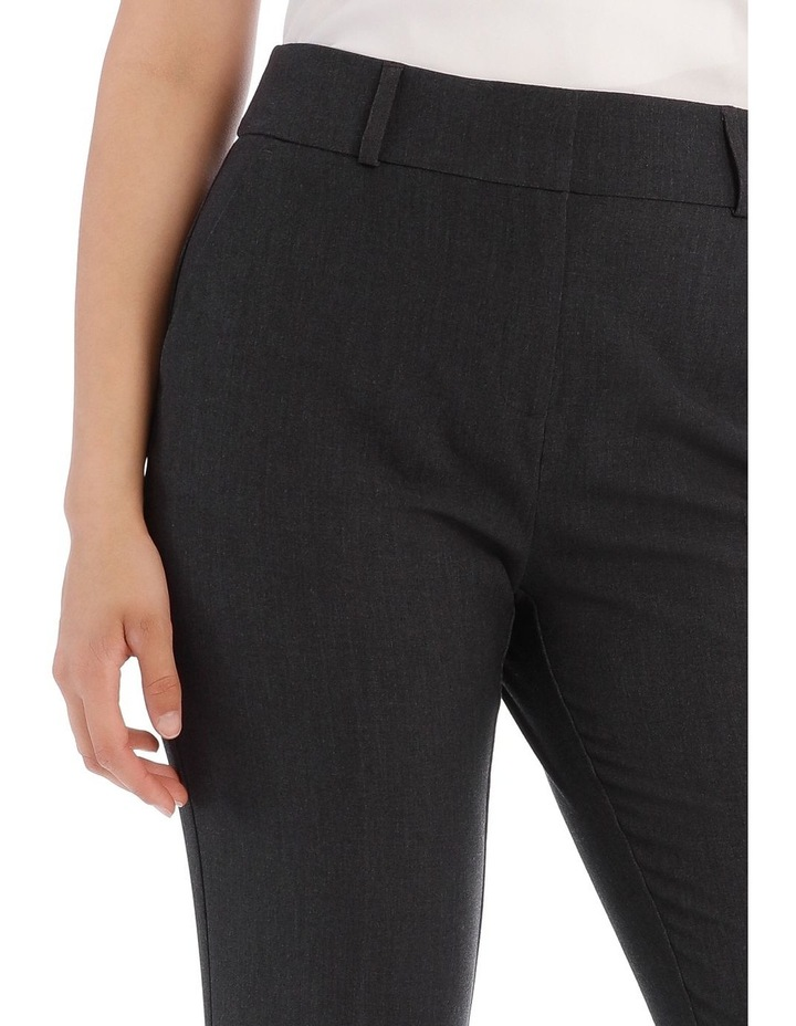 Abi Charcoal Straight Leg Pant image 7