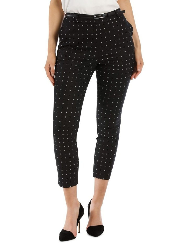Circles Chloe Cropped Belted Pant image 1
