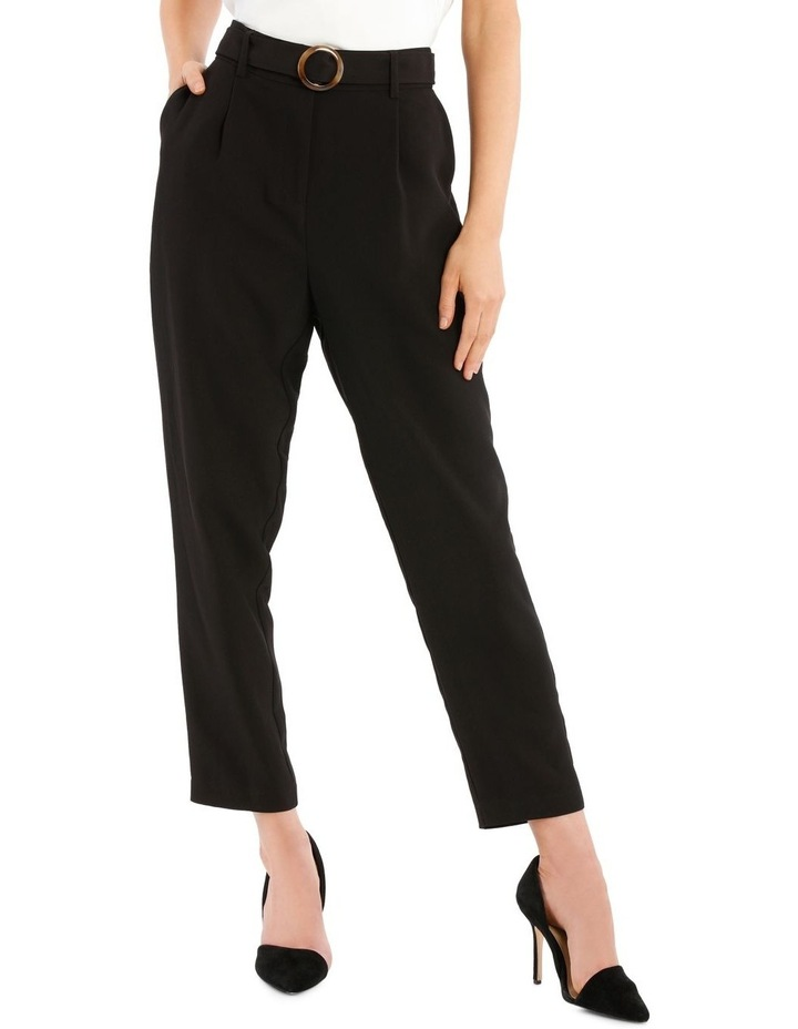 Tie Waist Tapered Pant image 1
