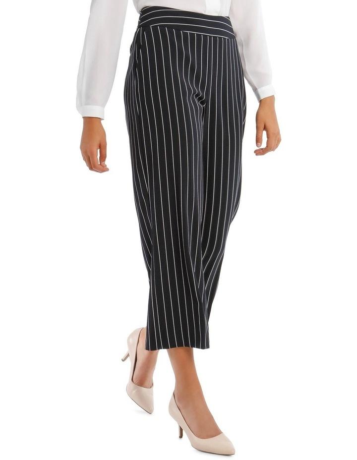 Kiera Wide Leg Culotte - Stripe image 2