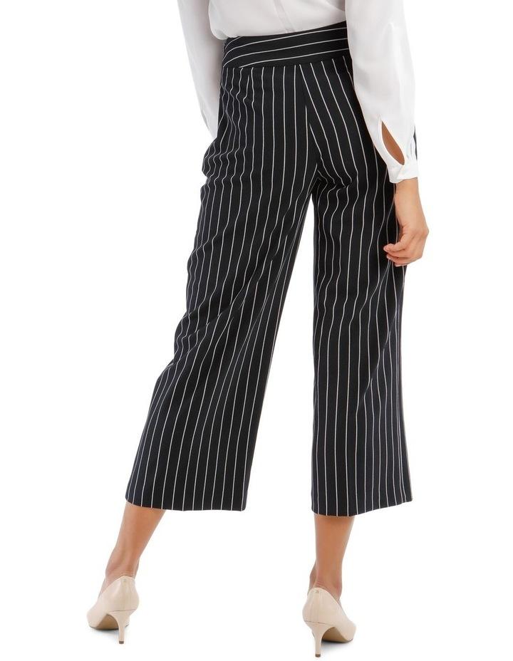 Kiera Wide Leg Culotte - Stripe image 3