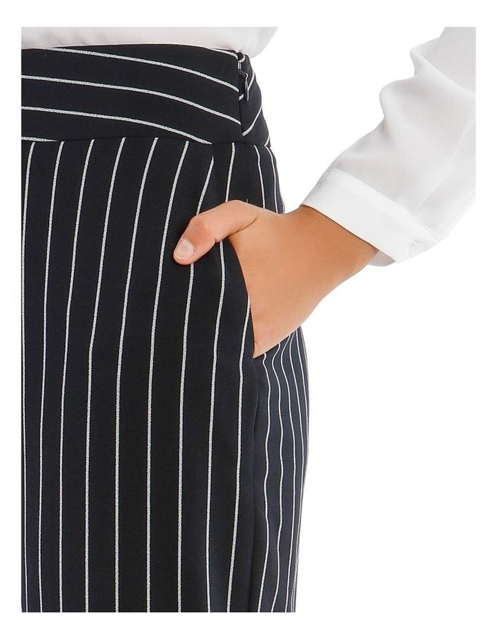 Kiera Wide Leg Culotte - Stripe image 4
