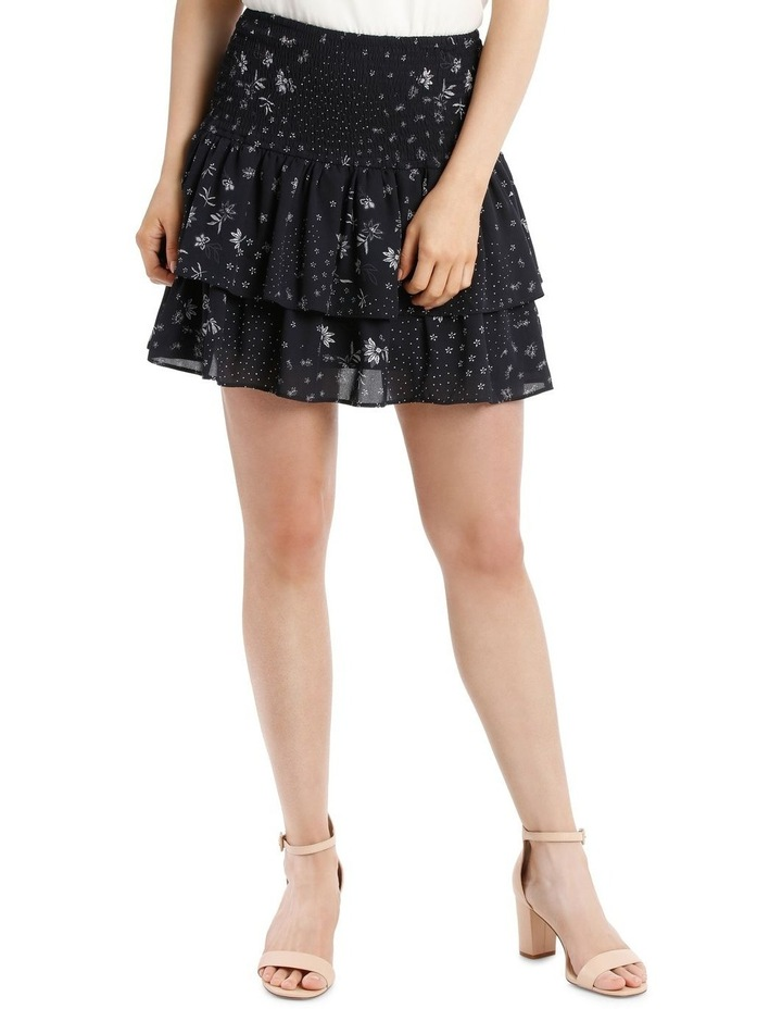 Shirred Flippy Skirt image 1