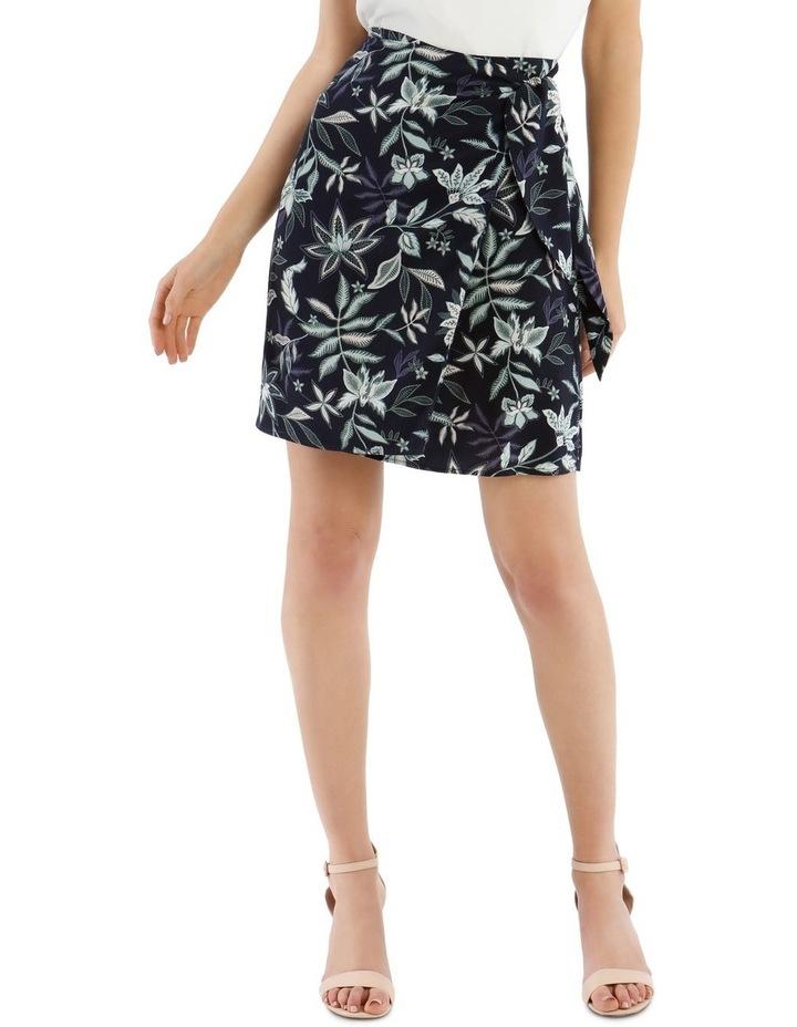 Paisley Wrap Skirt image 1