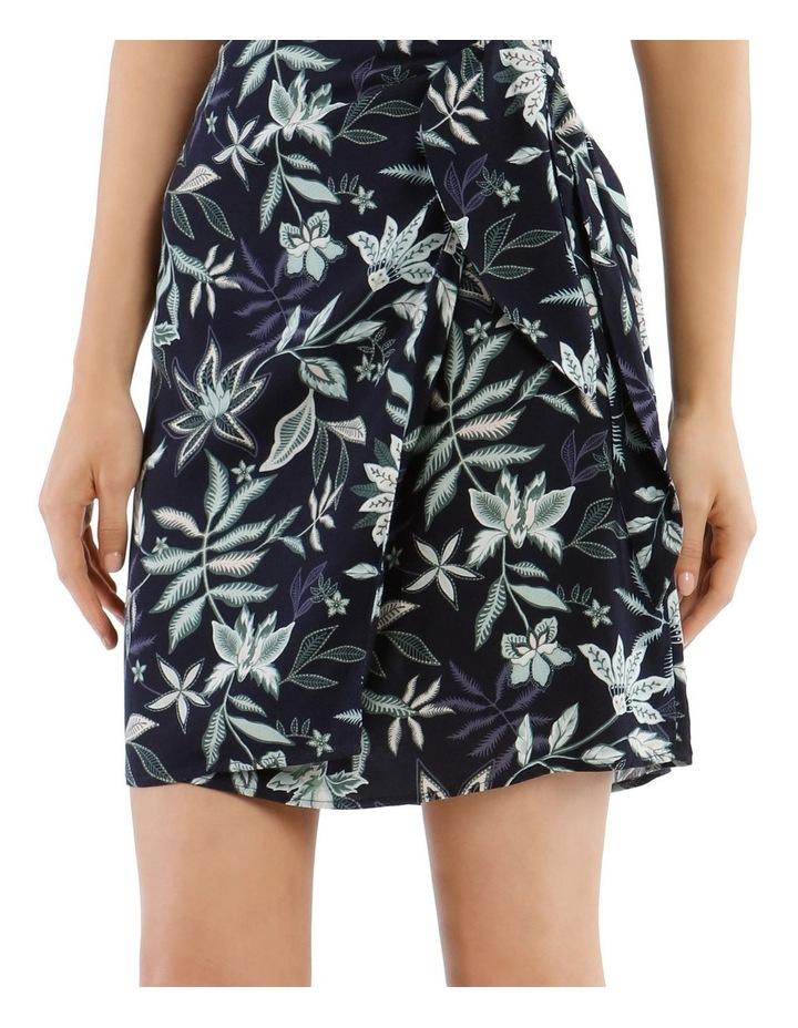 Paisley Wrap Skirt image 4