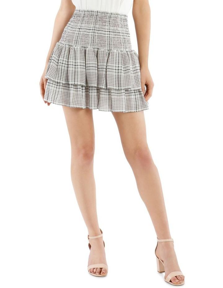 Shirred Flippy Skirt image 1