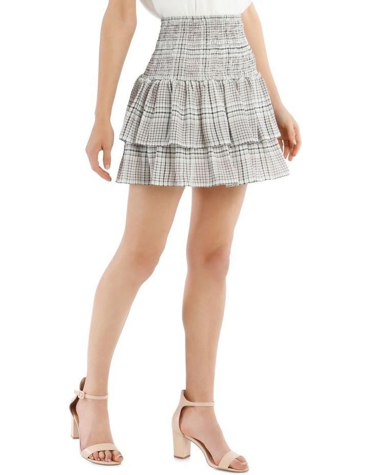 Shirred Flippy Skirt image 2