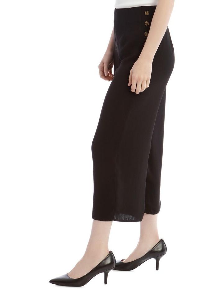 Wide Leg Button Side Pant image 2
