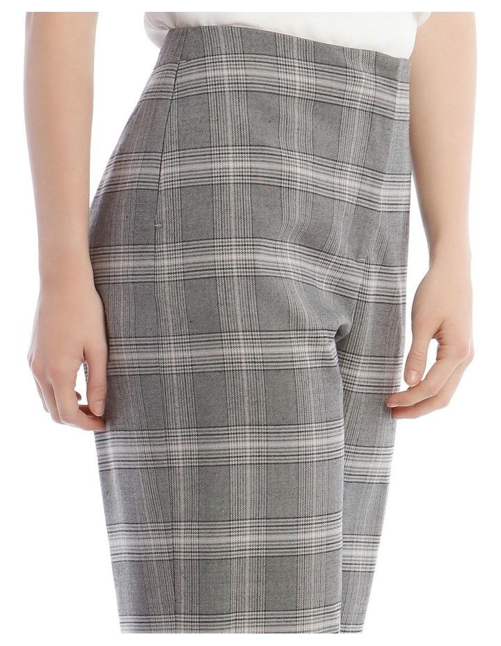 Wide Leg Check Pant image 4