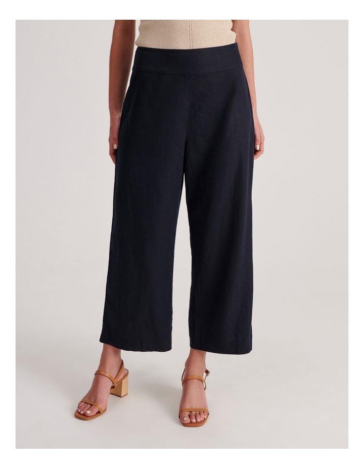 Plain Linen Culottes image 1