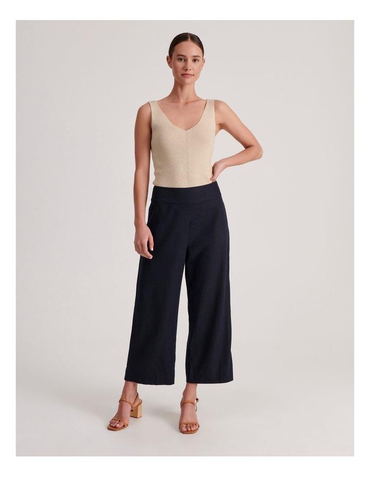 Plain Linen Culottes image 2