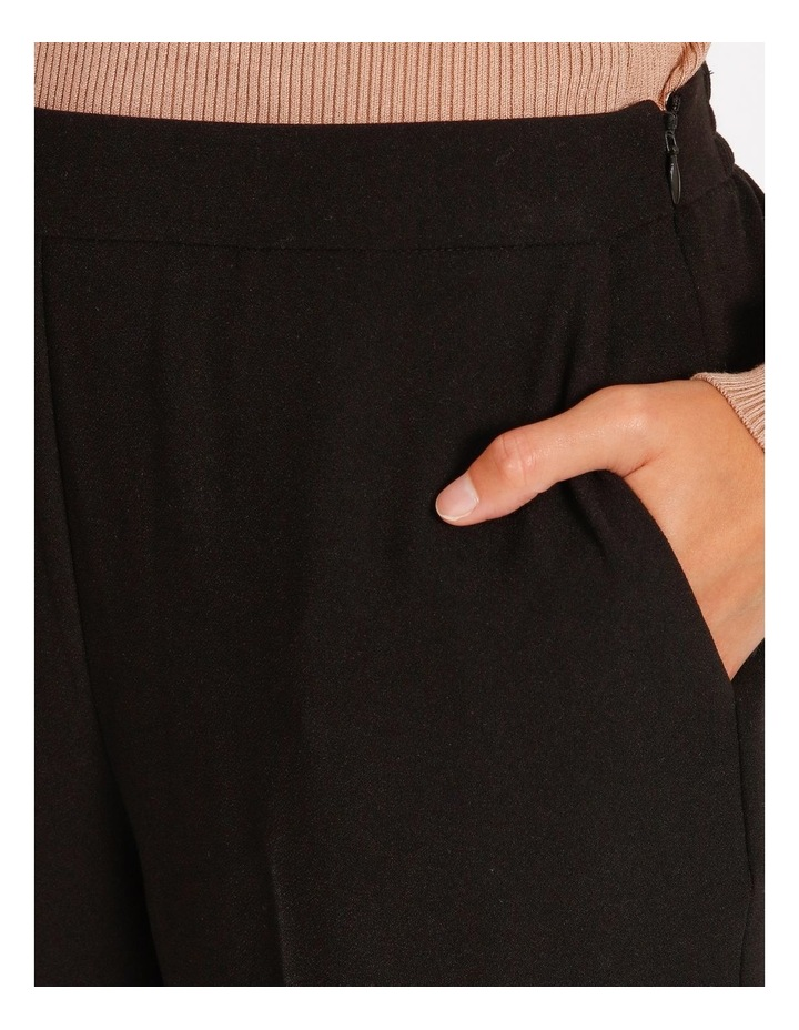 Soft Elasticated Tapered Crepe Pants image 4