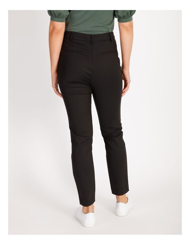 Helena High Rise Full Length Cotton Sateen Pants image 3