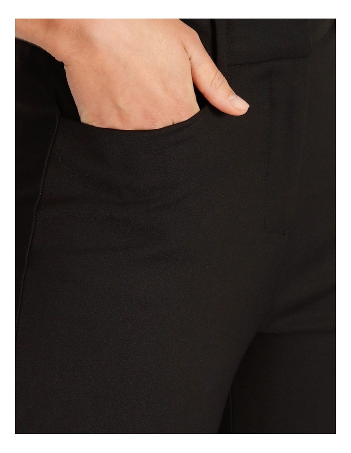 Helena High Rise Full Length Cotton Sateen Pants image 4