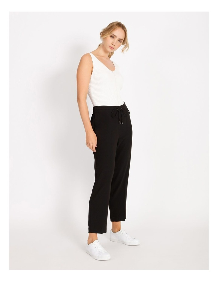 Crepe Relaxed Jogger Pants image 2