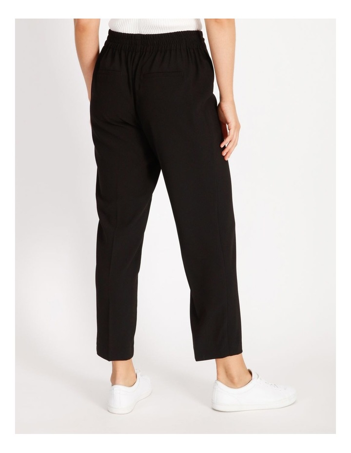 Crepe Relaxed Jogger Pants image 3