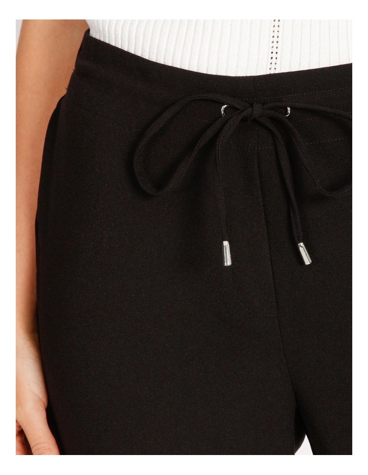 Crepe Relaxed Jogger Pants image 4