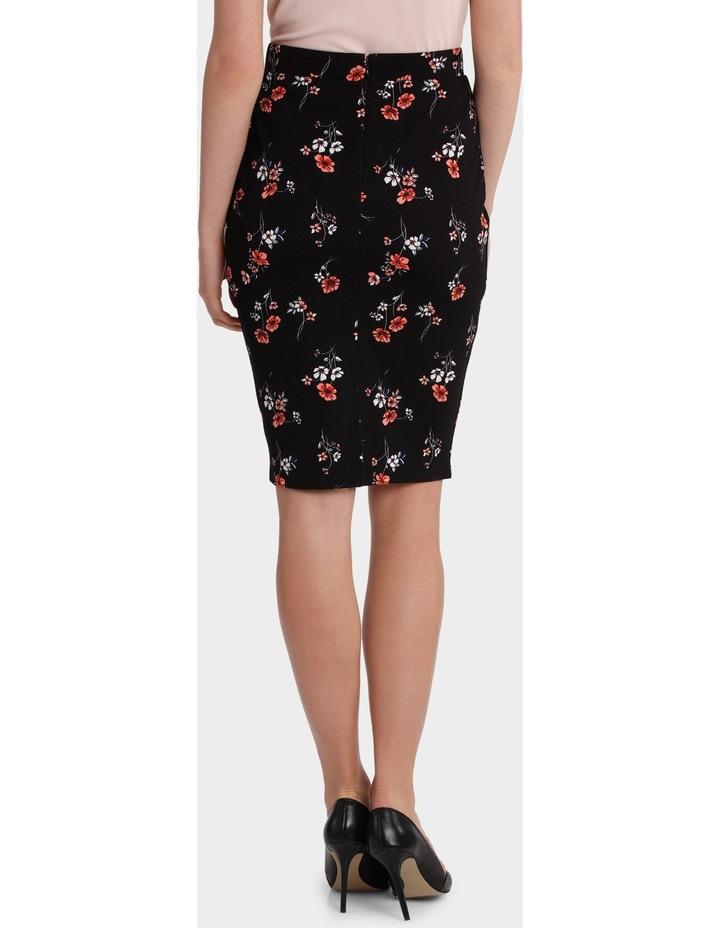 Textured Pencil Skirt image 3