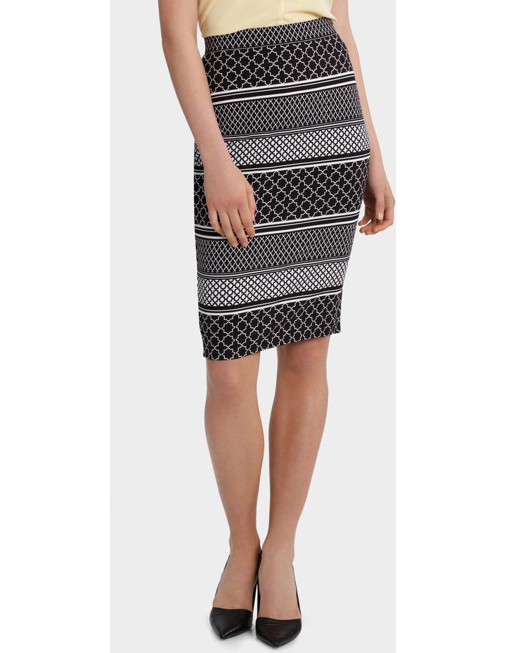 Textured Pencil Skirt image 1