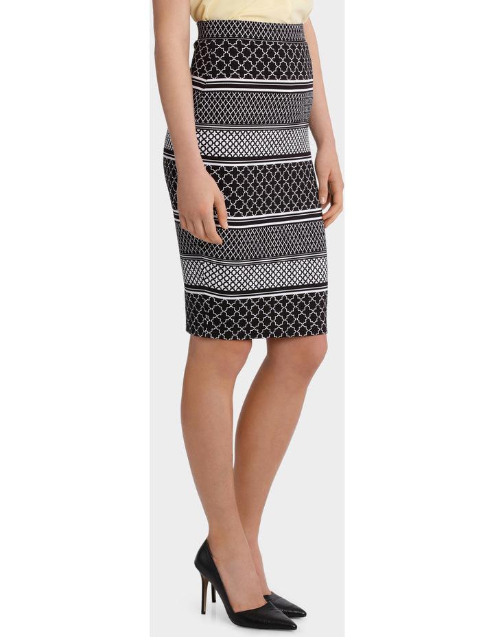 Textured Pencil Skirt image 2