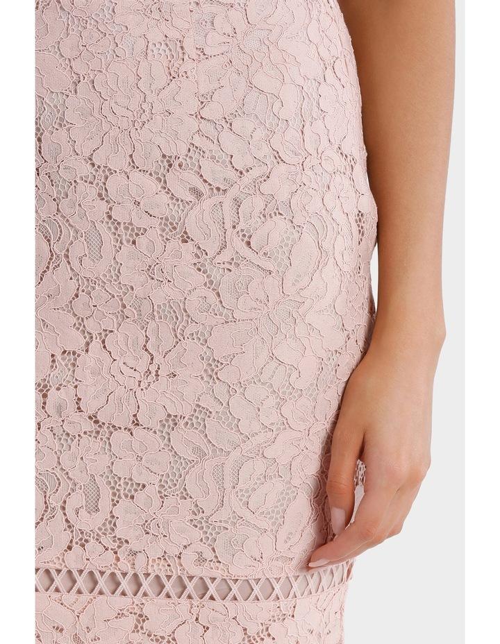 lace pencil skirt - blush pink image 4
