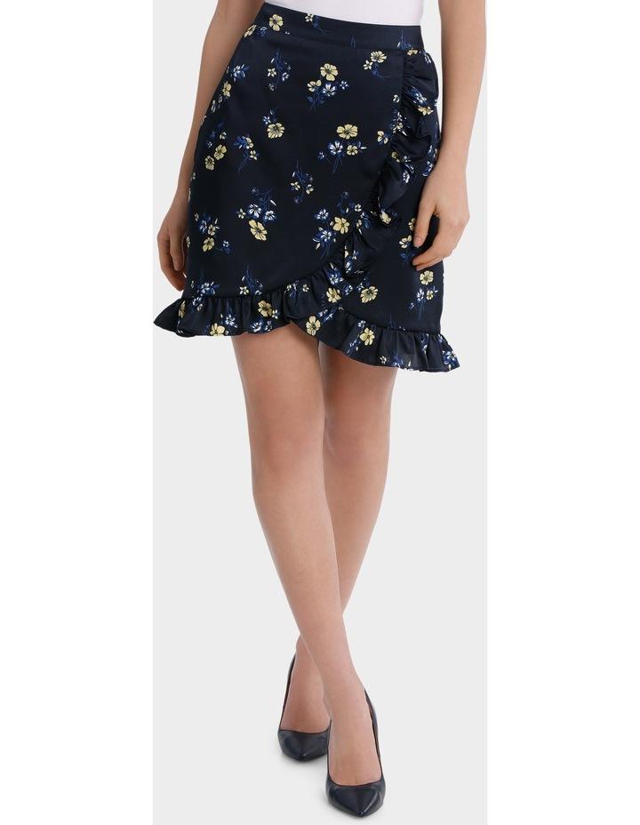 floral frill skirt image 2