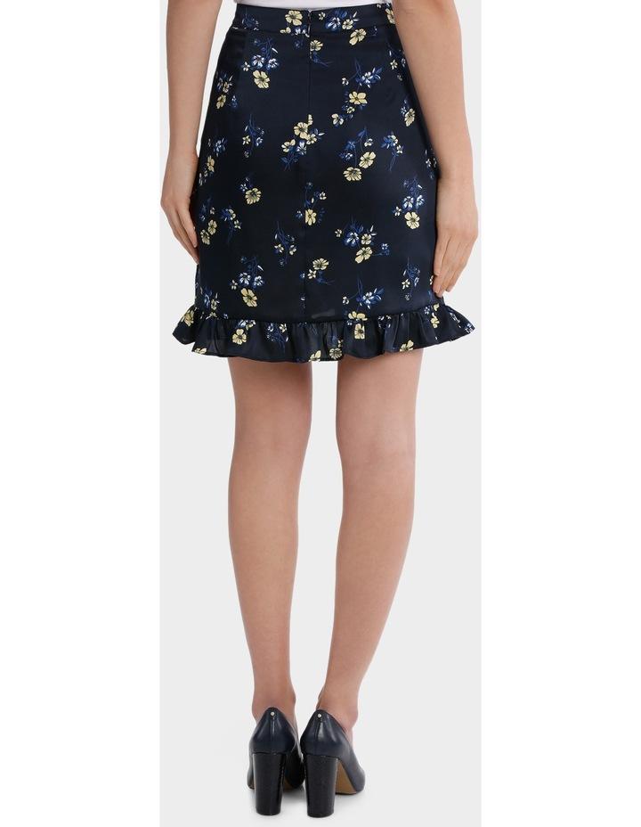 floral frill skirt image 3