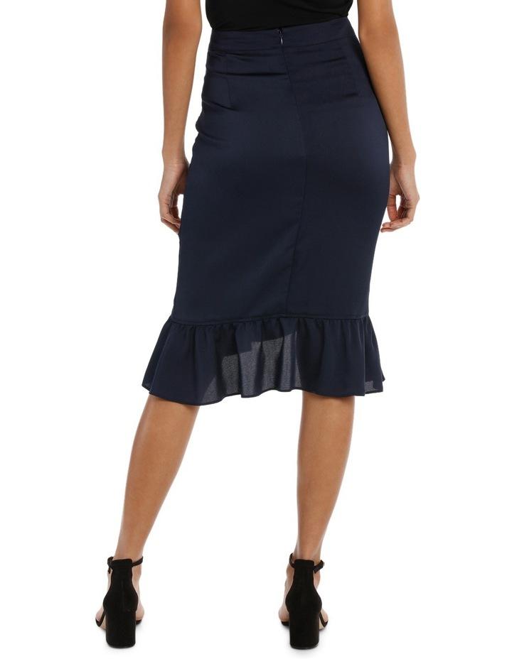 Ruffle Wrap Midi Skirt TS18327 image 5