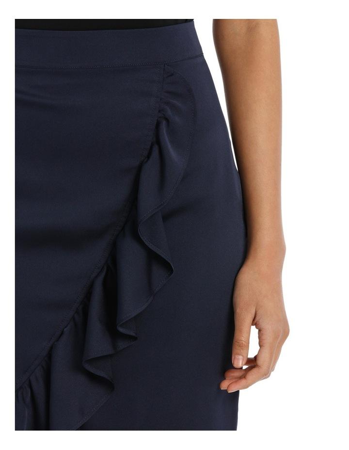 Ruffle Wrap Midi Skirt TS18327 image 7