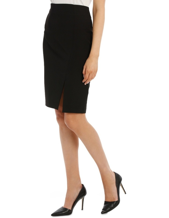Mock Wrap Pencil Skirt image 2