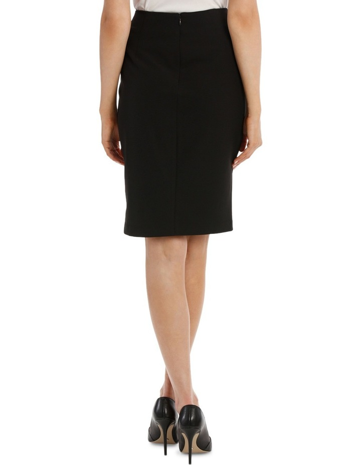 Mock Wrap Pencil Skirt image 3